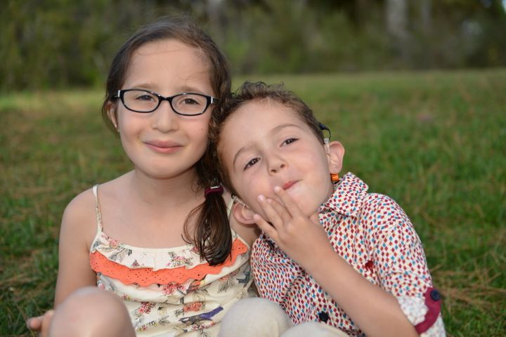 Elliott and Rosie's children, Natalie, 8, and Joseph, 5.