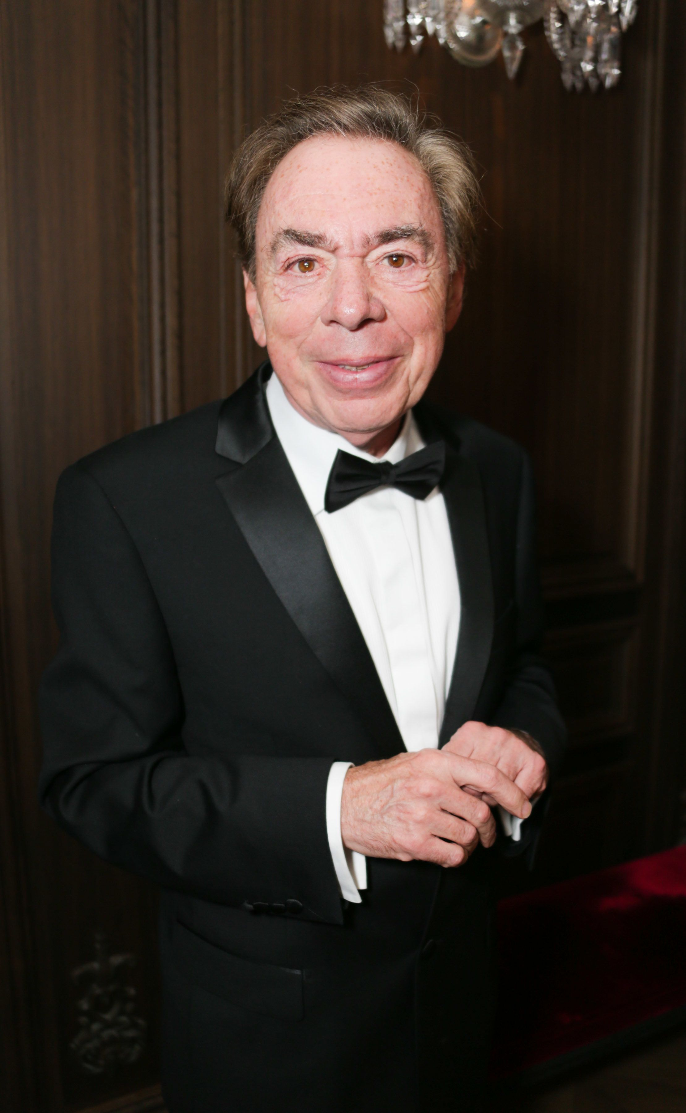 NEW YORK, NY - JUNE 12:  Andrew Lloyd Weber attends DKC/O&M's Annual Late Night Tony Awards Party at Baccarat Hotel on June 12, 2016 in New York City.  (Photo by Victor Hugo/Patrick McMullan via Getty Images)