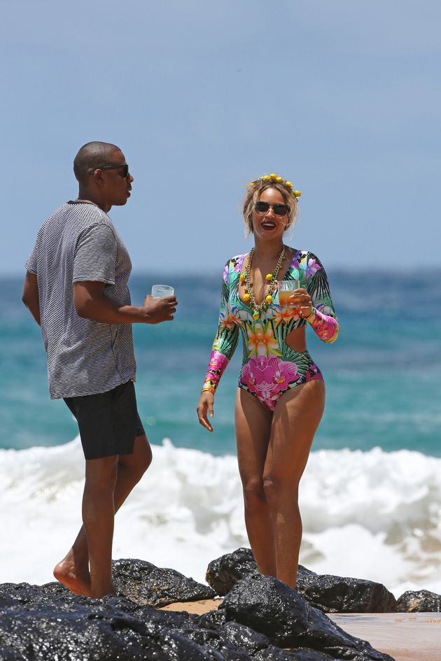 Stop What You're Doing And Look At Beyonce's Incredible Bathing