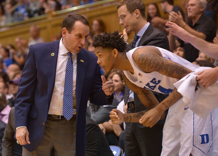 Ingram tells HuffPost that he still speaks often with Coach K.