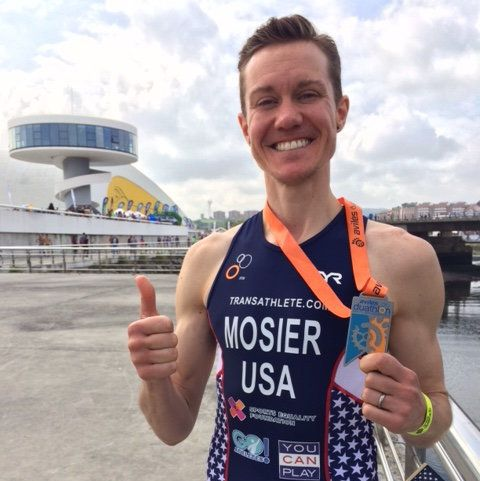 """""""I finally feel at home in my body,"""" Mosier said."""