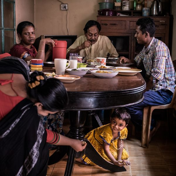 Proper nutrition is extremely important for children's survival, health and development. In Khulna, Bangladesh, Amena A