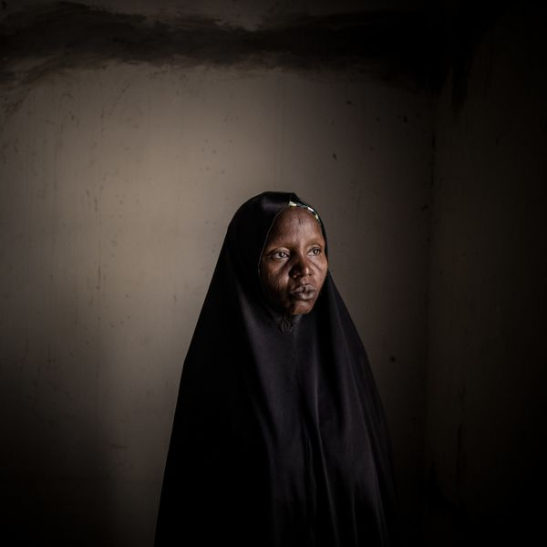 Kaltum Mallamgrema lives in Maiduguri, northern Nigeria, in a camp for persons displaced by the Boko Haram conflict. She did