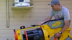 NASA Engineer Builds World's Largest Nerf Gun And It's