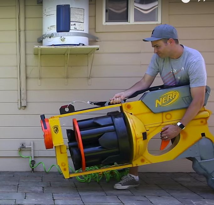 how to build a nerf gun