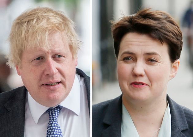 Boris Johnson And Ruth Davidson Shouted At Each Other At BBC EU Referendum