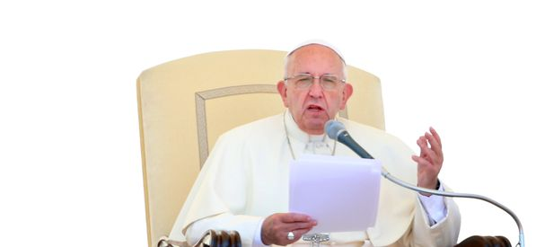 Pope Francis Reminds Catholics Why Judging Others Isn't Christian