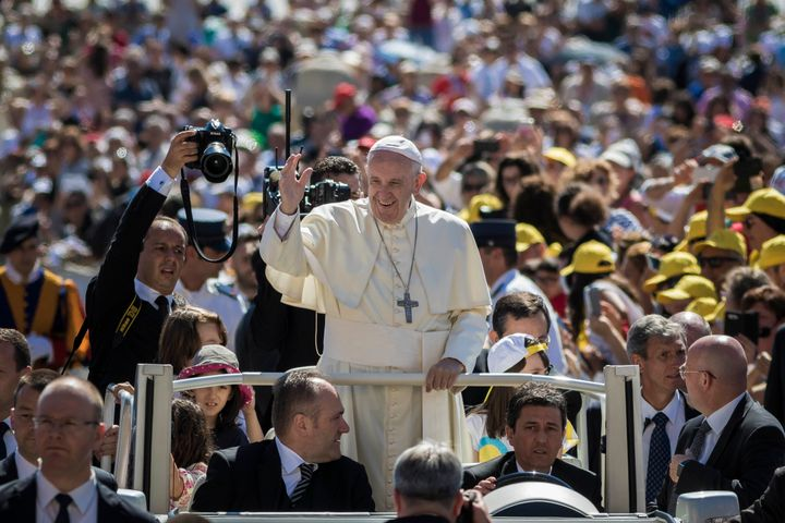 Pope Francis warned Catholics not to judge others during a Mass on Monday, June 20.