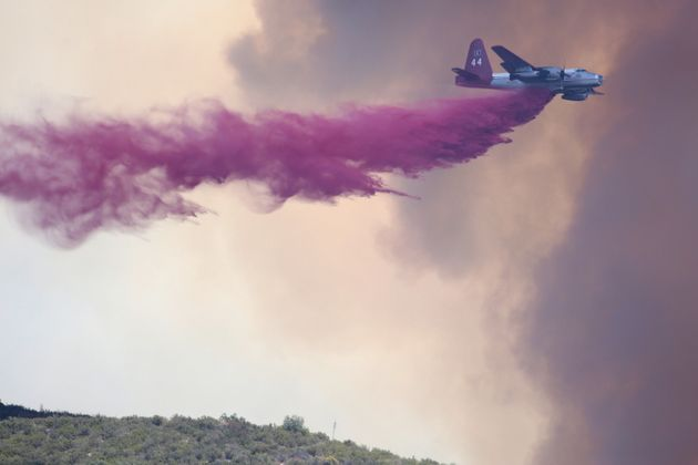 California Wildfires Threaten To Merge As Hundreds