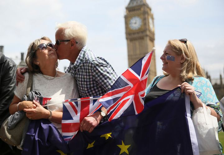 Older British voters are muchmore likely to support leaving the European Unionthan younger voters, but their view