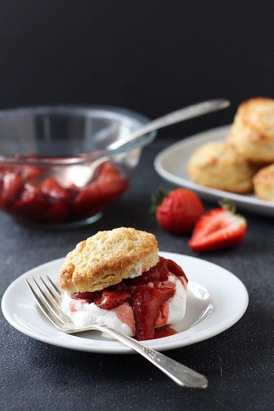 """<strong>Get the <a href=""""http://www.completelydelicious.com/2013/03/roasted-balsamic-strawberry-shortcakes.html"""" target=""""_bla"""