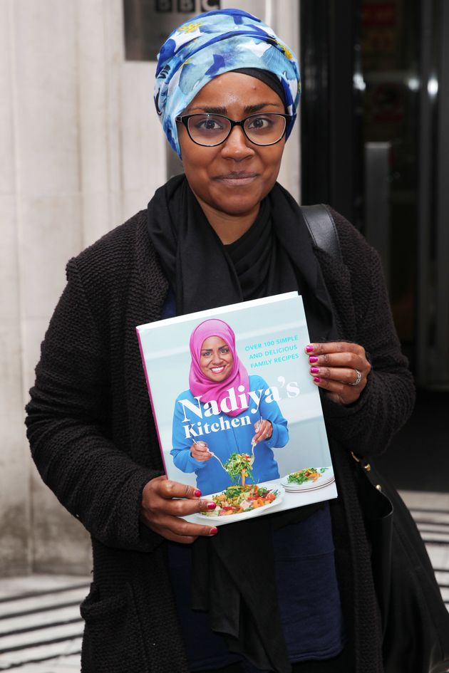 Nadiya has recently published her own