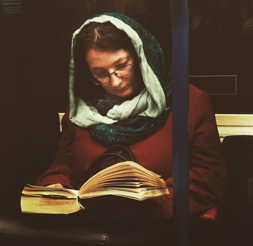 This Photographer Is Turning Pictures Of Commuters Into 16th Century-Style