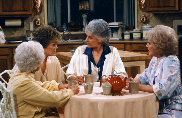 "It won't be quite like the ""Golden Girls"" kitchen, but close."