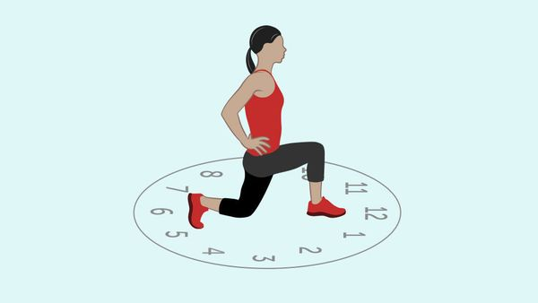 <strong>What it works:</strong> Hip flexibility, glutes <br><br><strong>Leads to better sex because:</strong> The larger the