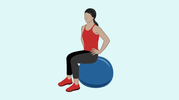 <strong>What it works:</strong> Pelvic-floor muscles, core <br><br><strong>Leads to better sex because:</strong> Strengthenin