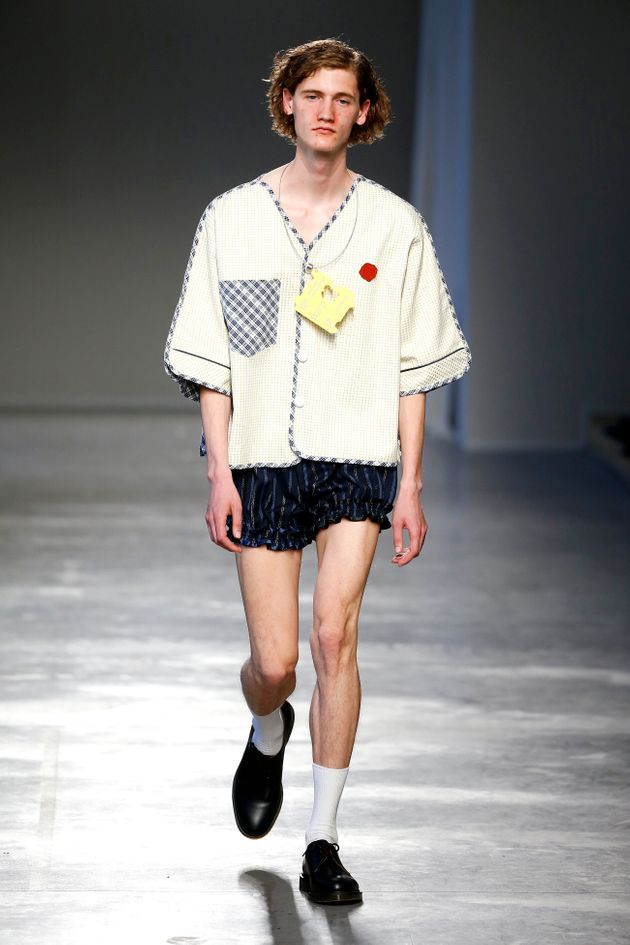 Moto Guo Thinks Acne Is The Hottest Look For Guys At Men's Fashion