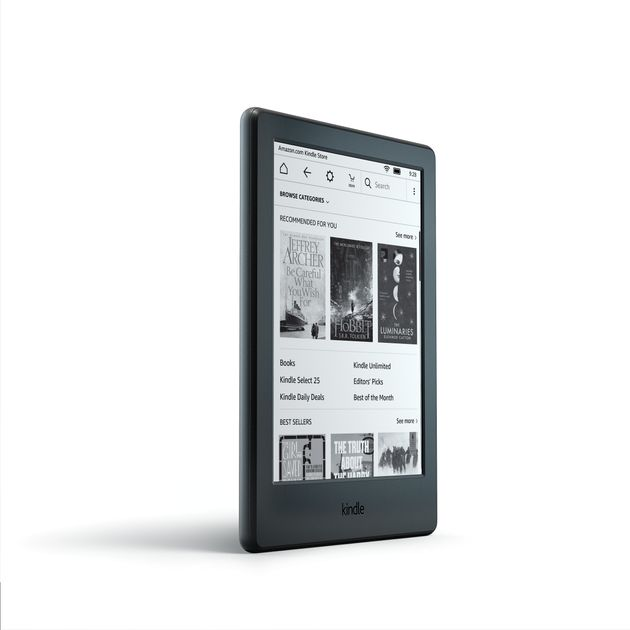 Amazon's New Kindle Is Lighter, Thinner And Still