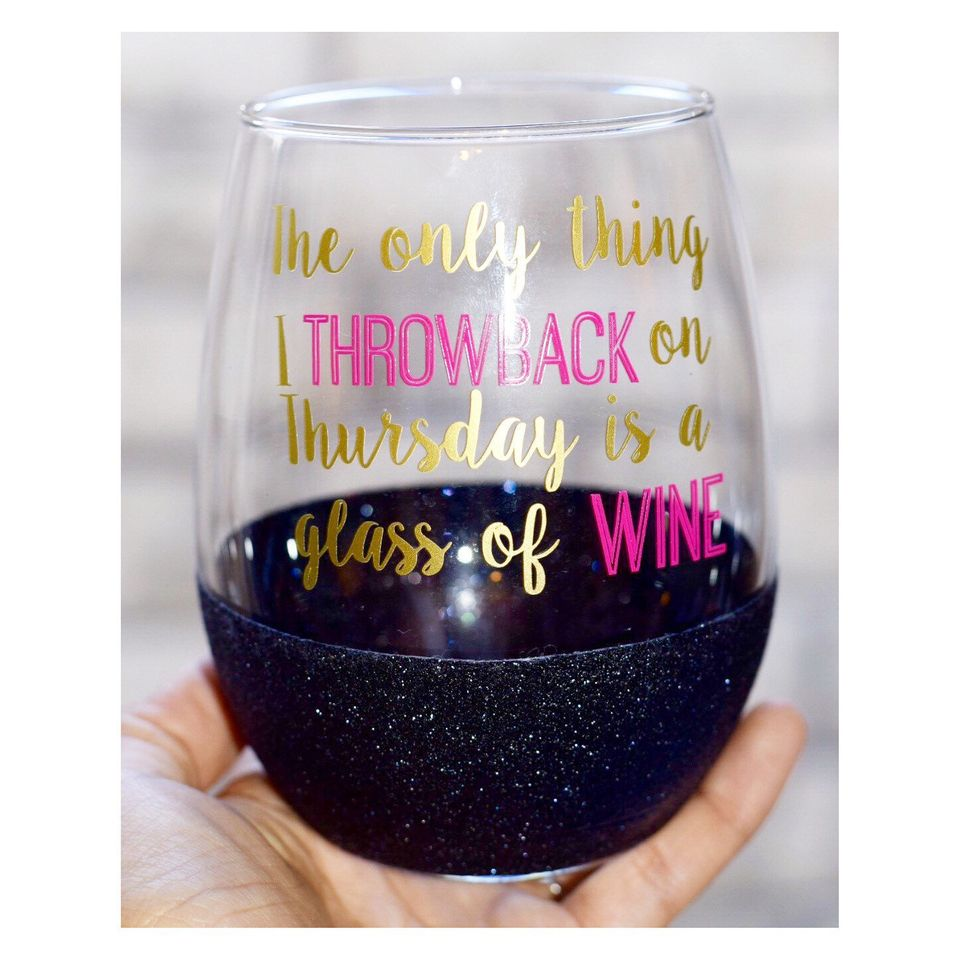 "<a href=""https://www.etsy.com/listing/246613932/throwback-thursday-stemless-wine-glass?utm_source=google&utm_medium=cpc&a"