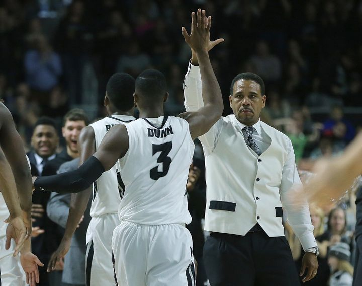 """""""I don't just trust anyone,"""" Dunn says. """"I'm a very loyal person. Coach [Ed] Cooley had shown that -- AAU games,"""