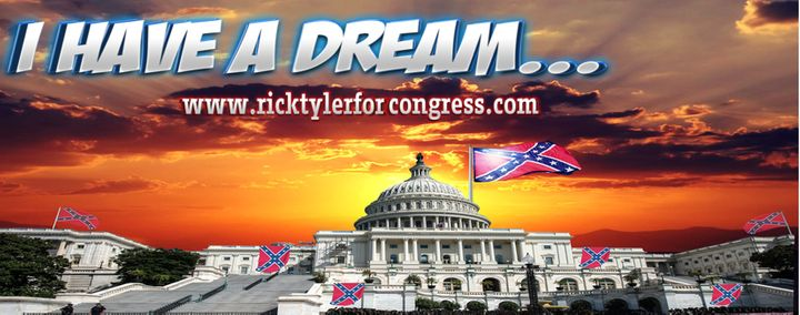 The main image on candidate Rick Tyler's Facebook page.