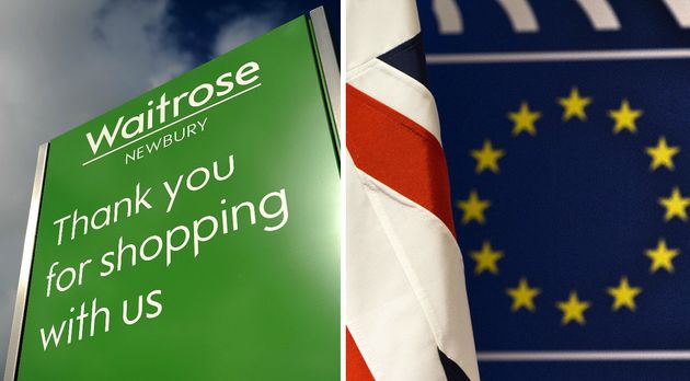 Waitrose shoppers were by a clear margin the most