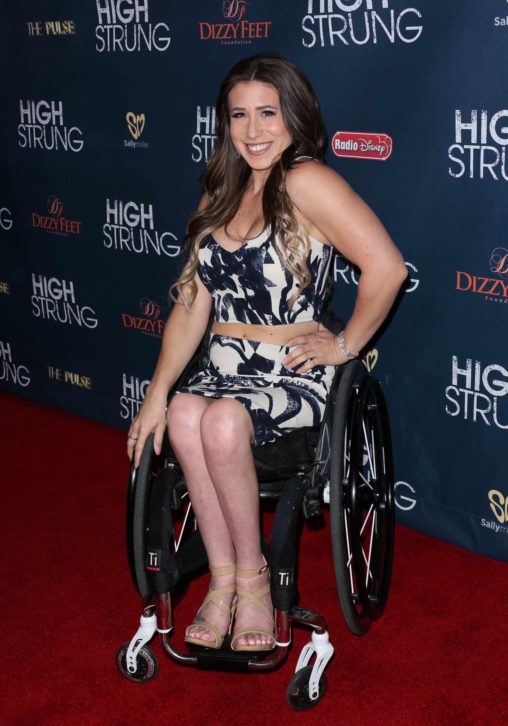Reality TV Personality Chelsie Hill attends the premiere of 'High Strung' at The TCL Chinese Theatre on March 29, 2016 in Hollywood, California.