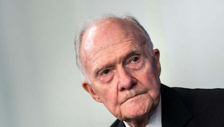 Former National Security Adviser Brent Scowcroft endorsed Hillary Clinton for president on Wednesday.
