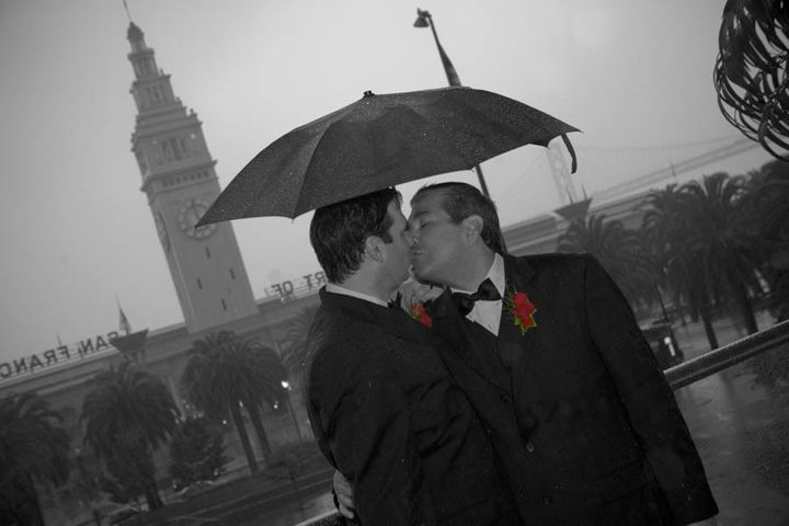 Our wedding day in 2008 in San Francisco