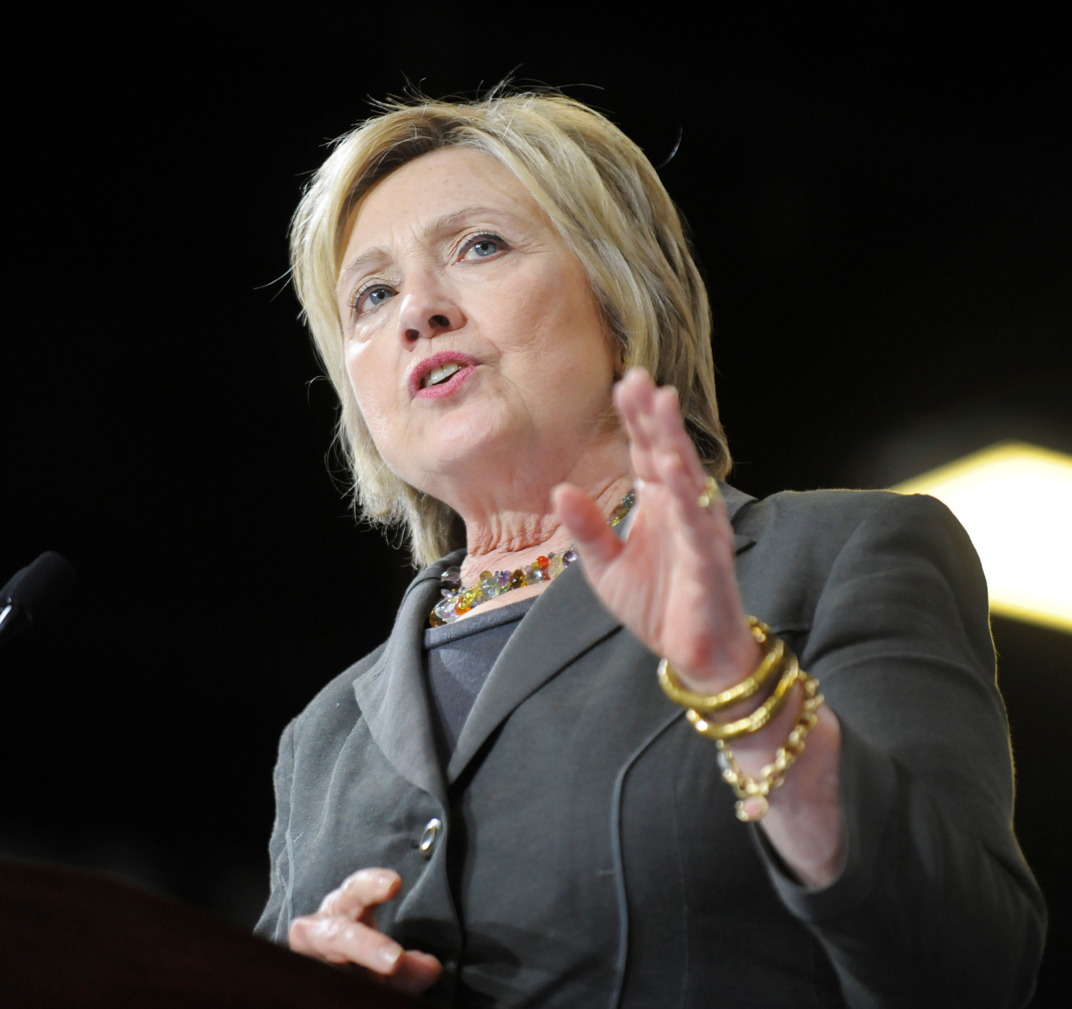 Hillary Clinton doesn't seem to be backing down on her opposition to the Trans-Pacific Partnership.