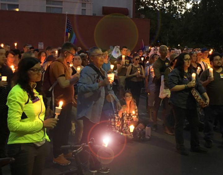 Sacramento Pulse Vigil, June 16th 2016