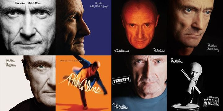 Phil Collins / <i>Face Falue</i>, <i>Hello I Must Be Going!</i>, <i>No Jacket Required</i>, ...<i>But Seriously</i>, <i>Both