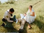 This Groom Got Bitten By A Rattlesnake While Taking Wedding Photos