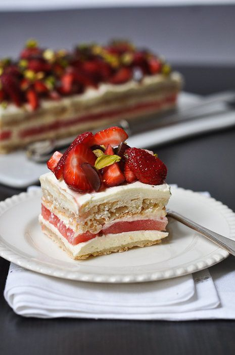 """<strong>Get the <a href=""""http://trissalicious.com/2010/12/02/sometimes-no-just-means-not-now-strawberry-and-watermelon-cake/"""""""