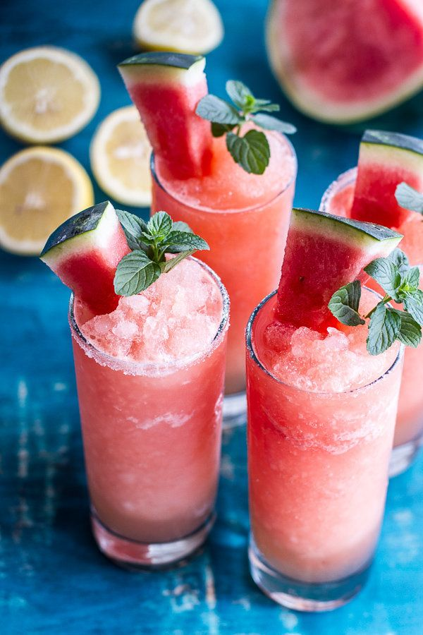 "<strong>Get the <a href=""http://www.halfbakedharvest.com/pink-watermelon-lemonade-slushies/"" target=""_blank"">Pink Watermelon"