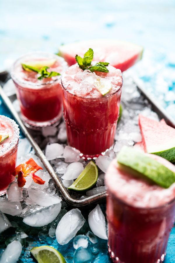 """<strong>Get the <a href=""""http://www.halfbakedharvest.com/minty-watermelon-cucumber-margaritas/"""" target=""""_blank"""">Minty Waterme"""