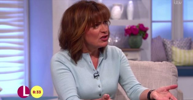 Lorraine Kelly was criticised for her interview with Zara
