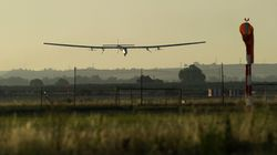 Solar Plane Lands In Spain After Historic Atlantic