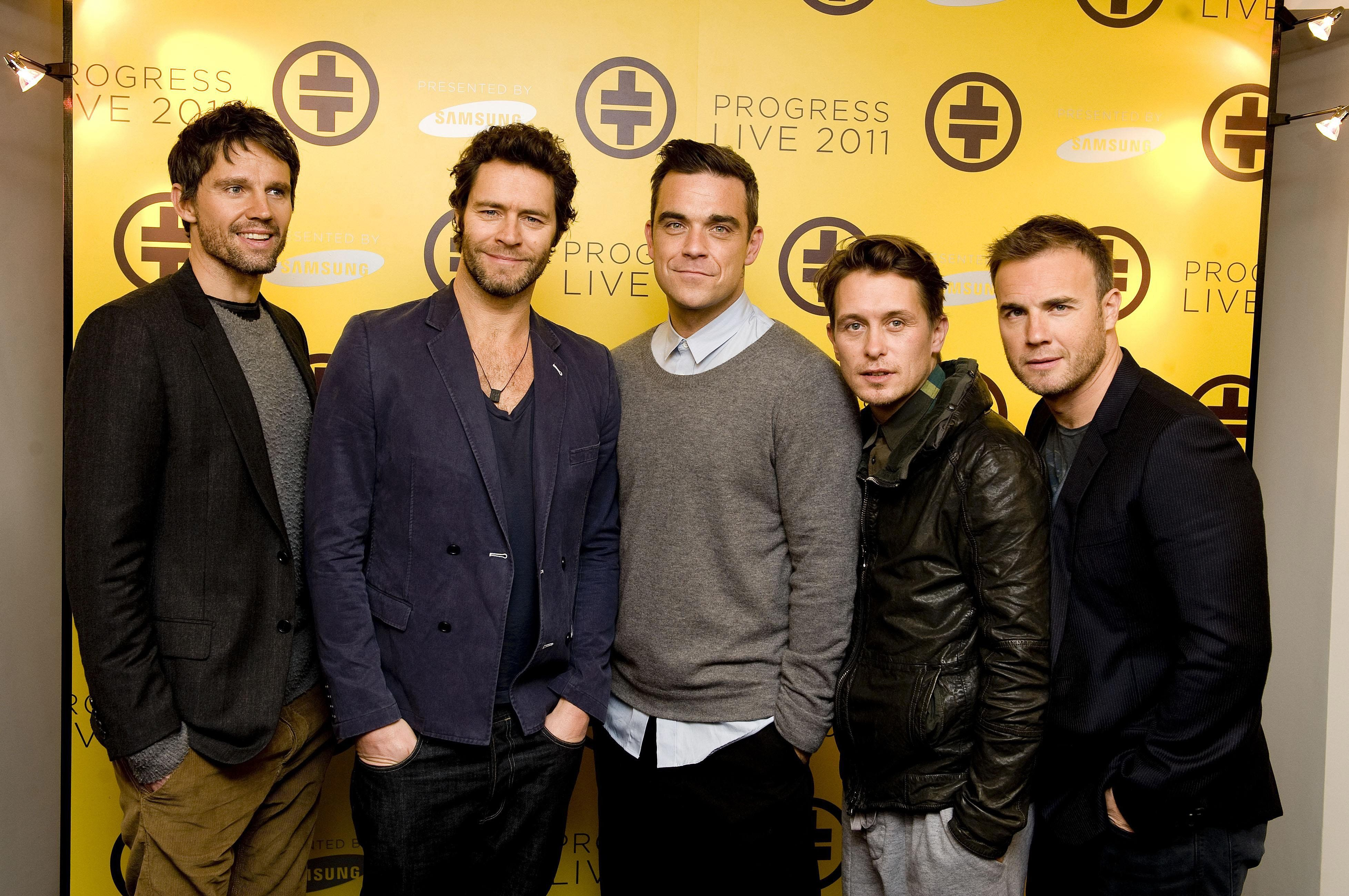 While Robbie is in talks to rejoin, Jason Orange will not