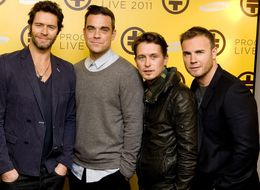 Robbie Williams Looks Set To Rejoin Take That