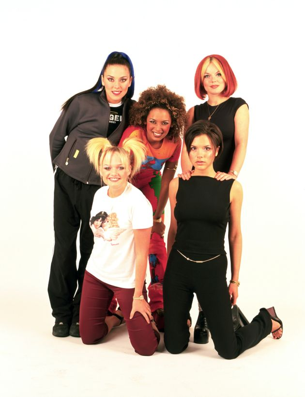 The Spice Girls in 1998, at the height of their