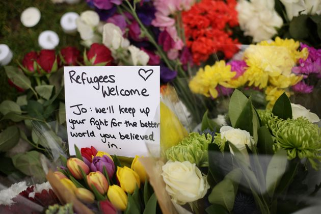 Thousands have paid tribute to Cox, including those who left flowers and messages at a memorial in Parliament...