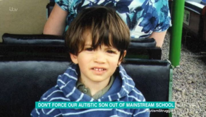 Valentino, now 11, was diagnosed with autism when he was two years old