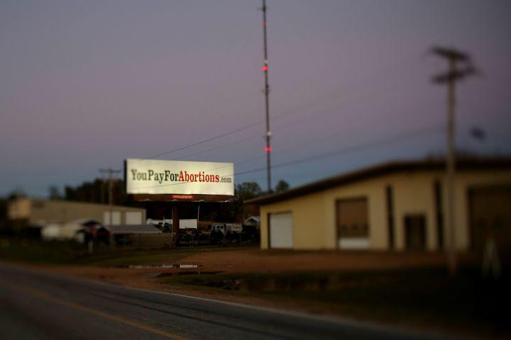 A Jackson, Mississippi billboard.