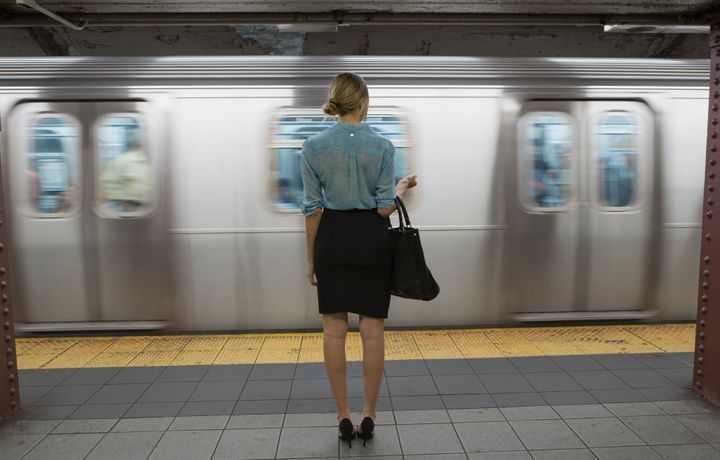 Many women report experiencing some form of sexual harassment on public  transportation.
