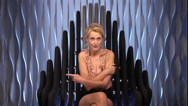 Jayne chats to Big Brother amid the