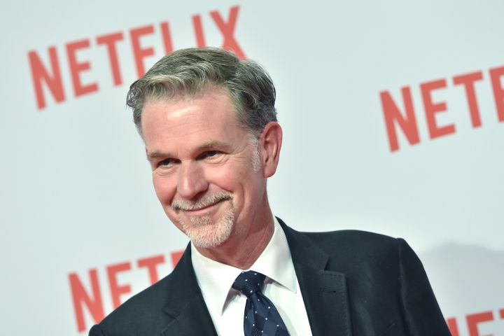 Netflix CEO and co-founder Reed Hastings officially threw his support behind Hillary Clinton on Thursday.