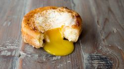 Egg-In-A-Donut Gives A Whole New Meaning To Breakfast Of