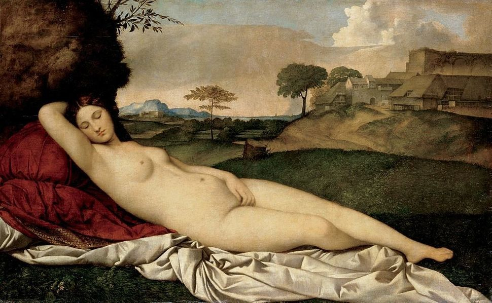 "Giorgione, ""Sleeping Venus,"" ca. 1508"