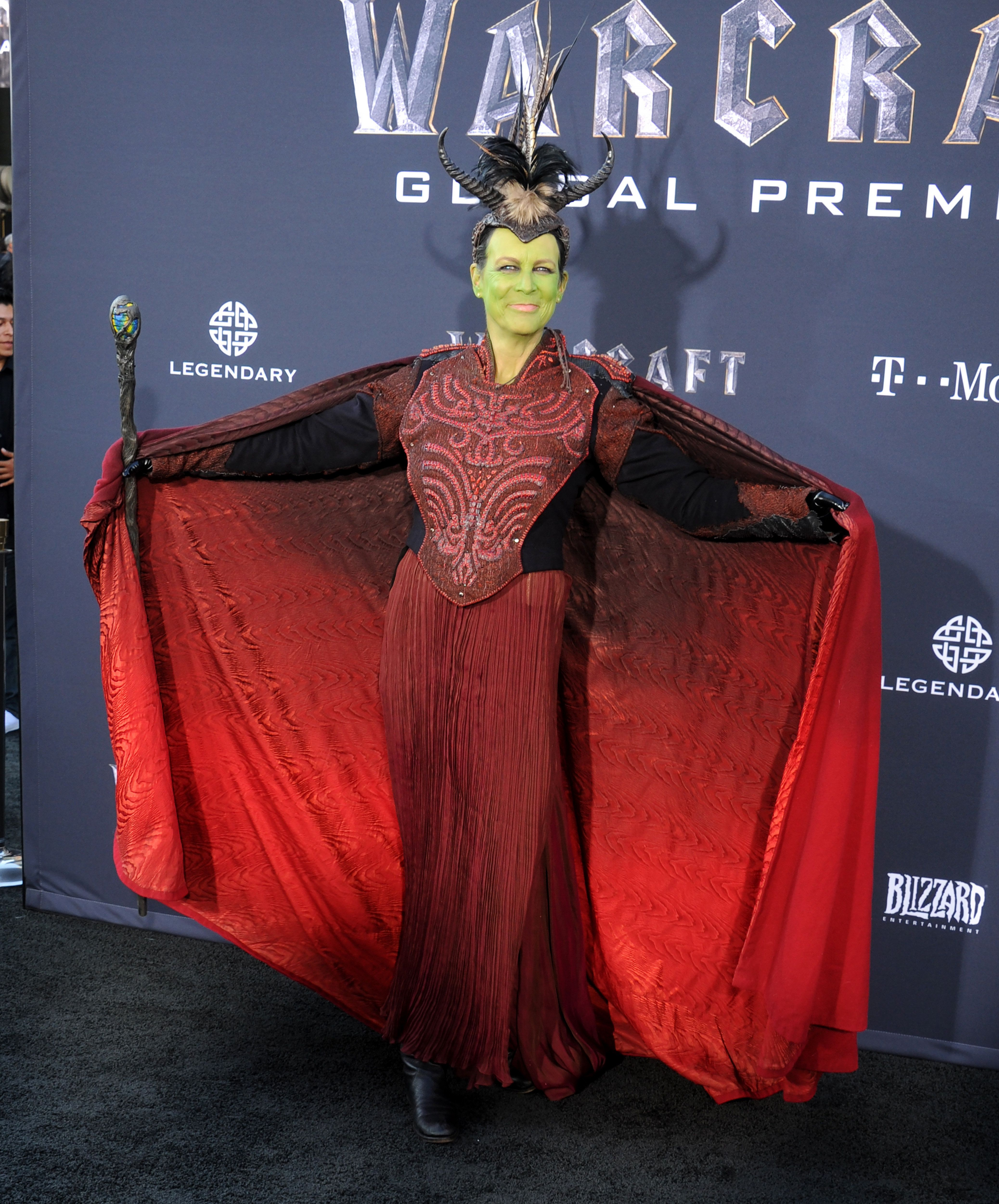 Jamie Lee Curtis Dresses As An Orc And Other Bizarre Celeb